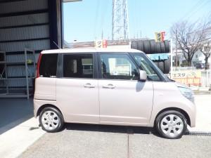横浜市K様よりスズキパレットのタイヤ交換を承りました