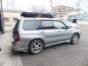 茅ヶ崎市I様よりスバルフォレスターのタイヤ組替を承りました