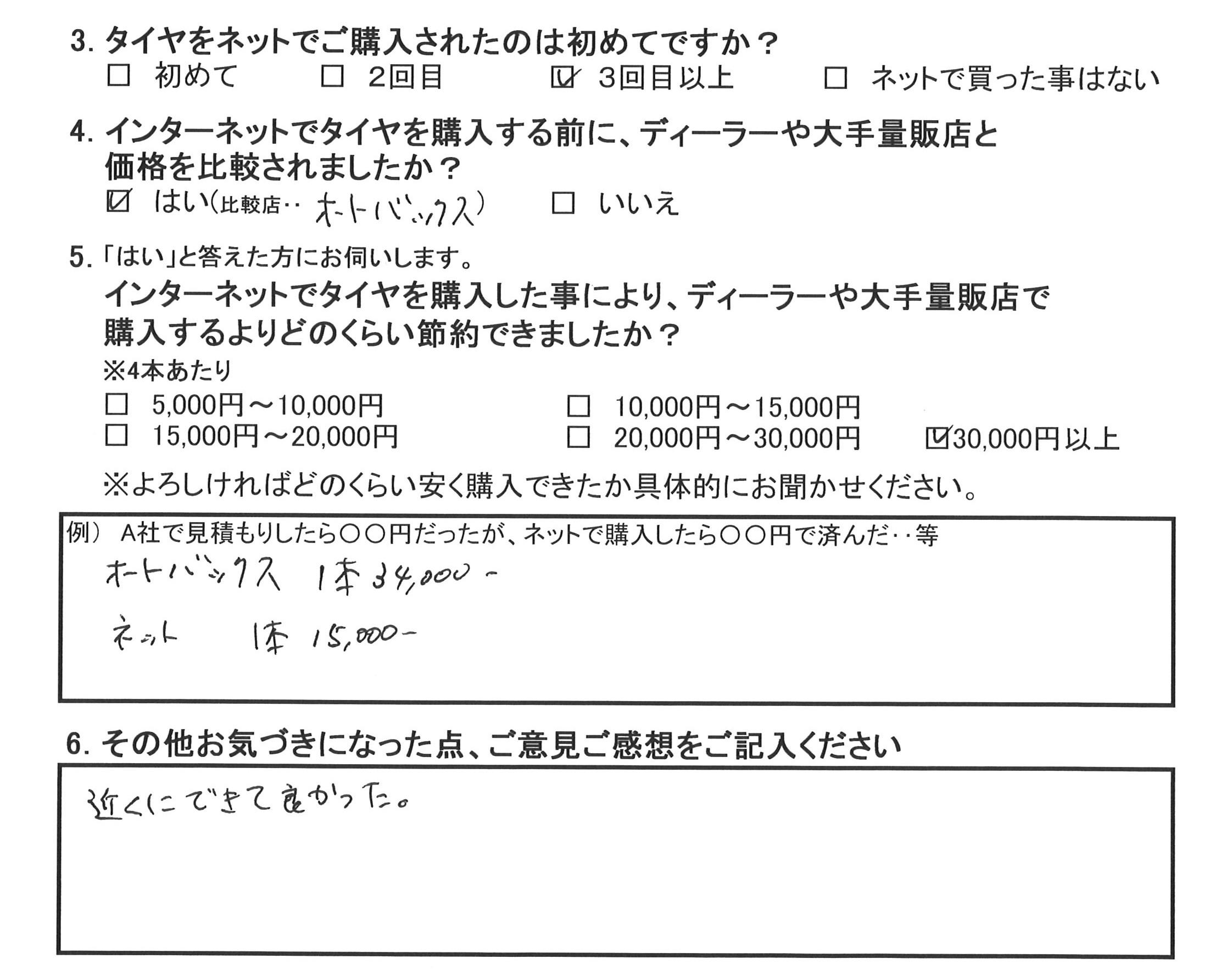 20160429柿本様アンケート