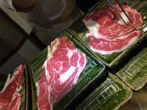 フロントスタッフの日常*肉寿司☺