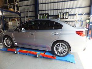藤沢市 T様 スバル WRX S4 タイヤ交換 | タイヤ交換専門店 タイヤフェスタ