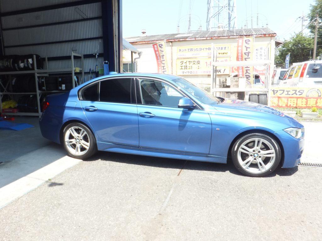 横浜市 K様 BMW3シリーズ 「接客が良くて感じが良い」 | タイヤフェスタ