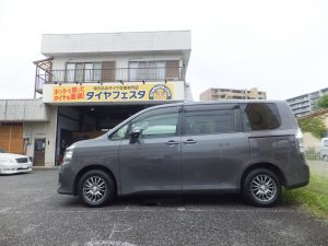 相模原市W様 トヨタ ヴォクシー タイヤフェスタ込み込みセット¥32,900