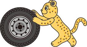 pose_tire