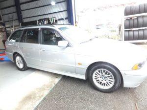 座間市S様 BMWのタイヤ交換で3万円以上のお得