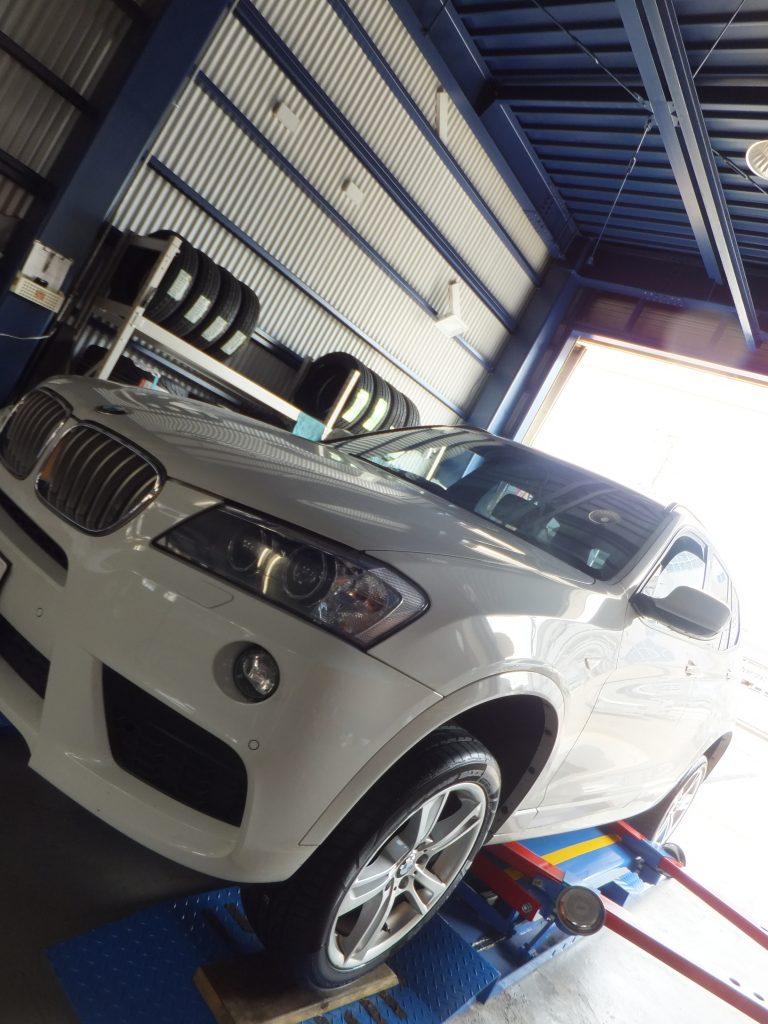 藤沢市M様 BMWのタイヤ交換「対応が丁寧で良かったです」