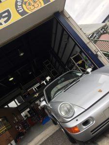 横浜市M様 ポルシェ911のタイヤ交換で3万円以上のお得!