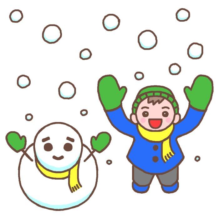 降っちゃいましたね~雪(ー_ー;)
