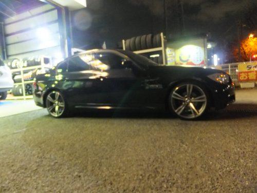 大和市O様 BMW320iのタイヤ交換で3万円以上のお得♪