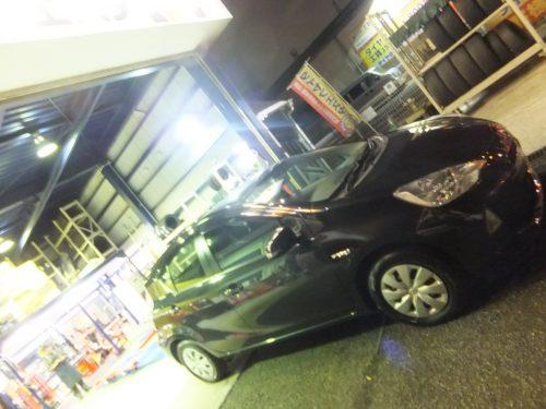横浜市瀬谷区Y様 トヨタアクアのタイヤ交換を承りました。