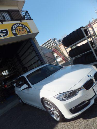 K様 BMWのタイヤ交換を承りました。