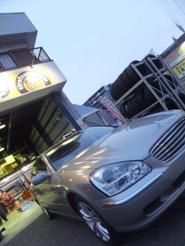 大和市S様 F50シーマのタイヤ交換を承りました!
