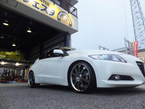 藤沢市Y様 ホンダCR-Zのタイヤ交換を承りました。