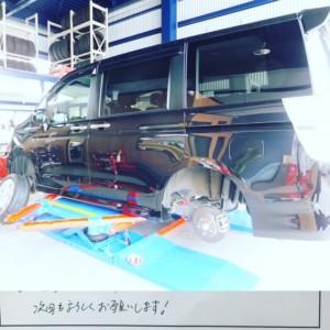 藤沢市S様よりホンダステップワゴンのタイヤ交換を承りました