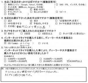 お得な事例*ダイハツタント 165/40R17 1本 1万5千円以上のお得!!