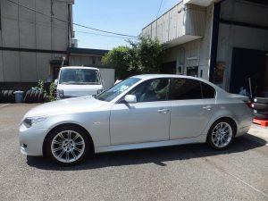 お得な事例*BMW525i 245/40R18  海外のタイヤで8万円以上のお得!!