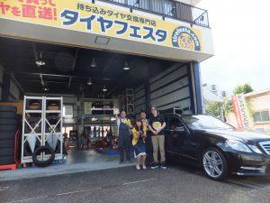 お得な事例*メルセデスベンツ 245/40R18 4本で約8万円のお得!!