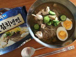 フロントスタッフの日常*冷麺☺