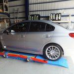 藤沢市 T様 スバル WRX S4 タイヤ交換 「HPを見て予約しました!」