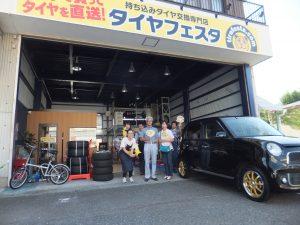 お得な事例*ホンダN-ONE 165/55R15 タイヤ&ホイールセット4本で50,000円!!