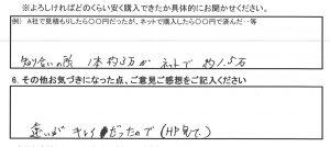 秦野市H様 トヨタ アルファードのタイヤ交換で約6万円のお得!