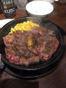 フロントスタッフの日常*ステーキを食べに行ってきました(^^♪