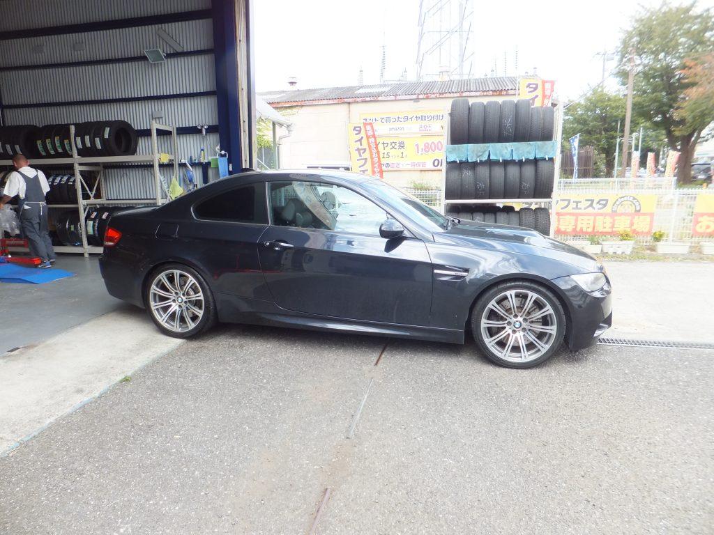 藤沢市のお客様より BMWのタイヤ交換を承りました!
