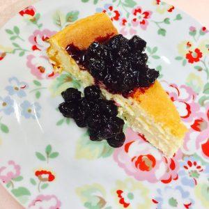 疲れていても作れちゃう、ずぼらなチーズケーキ♪