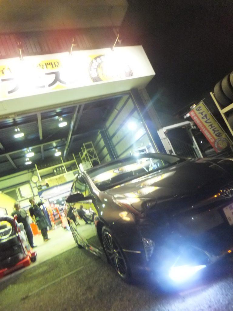 瀬谷区M様トヨタプリウスのタイヤ交換 3万円以上のお得!!