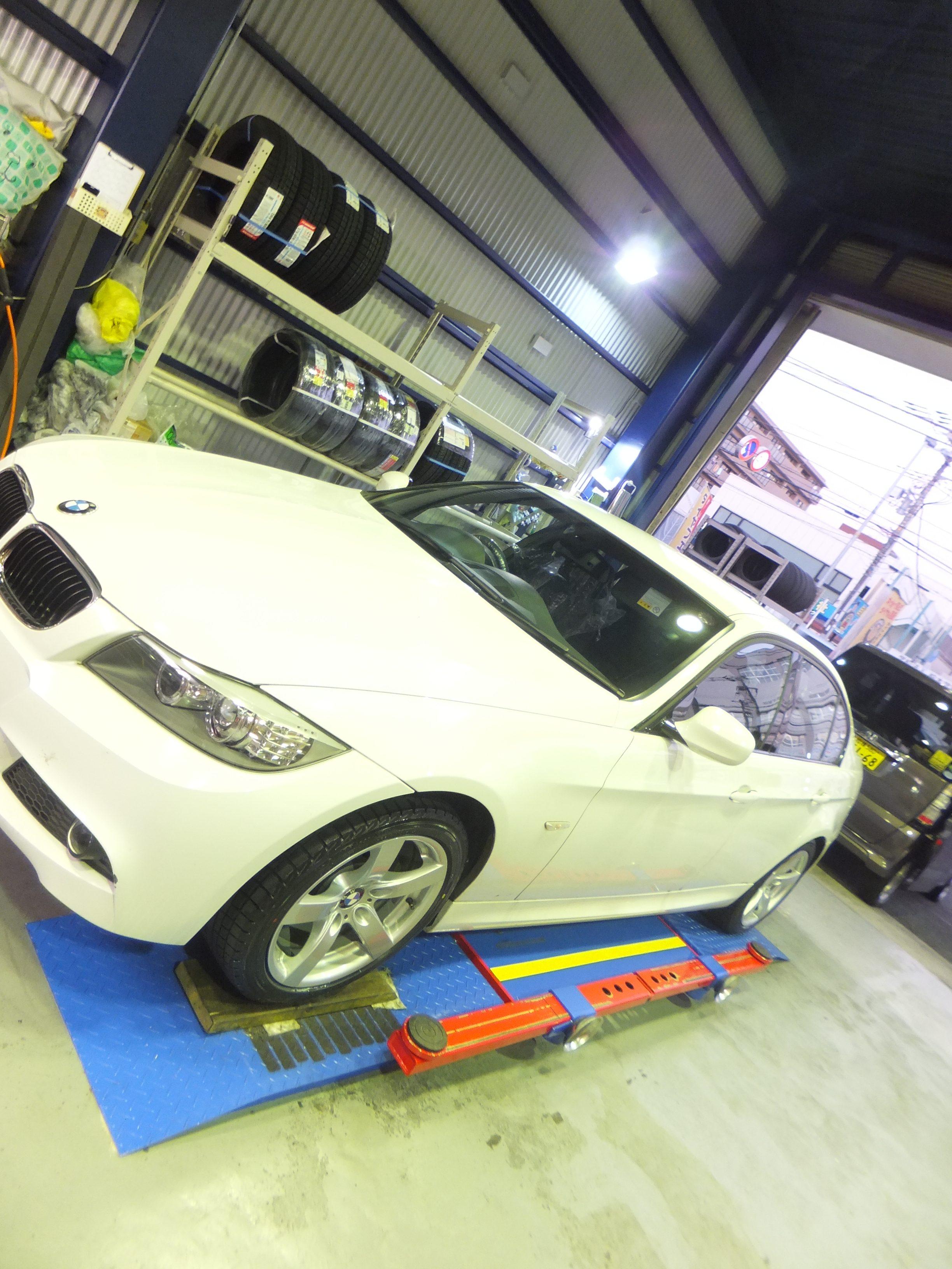 町田市K様 BMW320i 「手際が良く丁寧で利用して良かった」