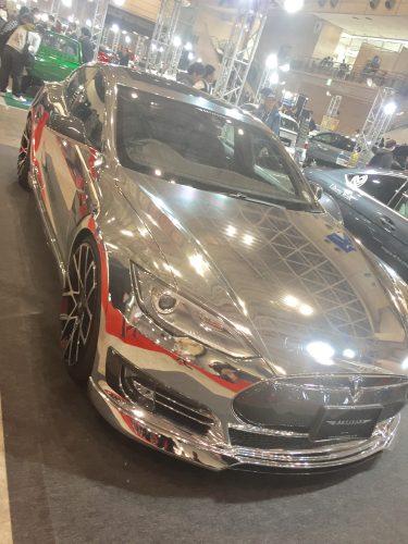 TOKYO AUTO SALON 2017 のキラキラ車