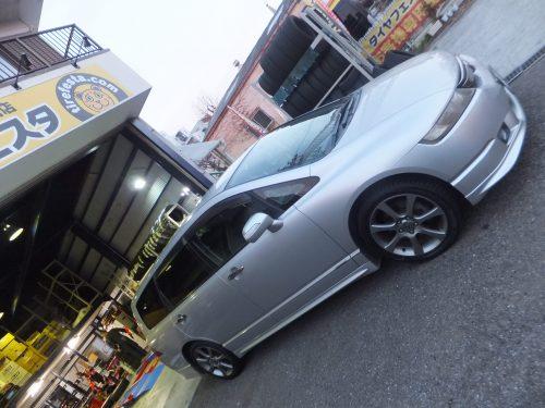 大和市Y様 ホンダオデッセイのタイヤ交換を承りました。