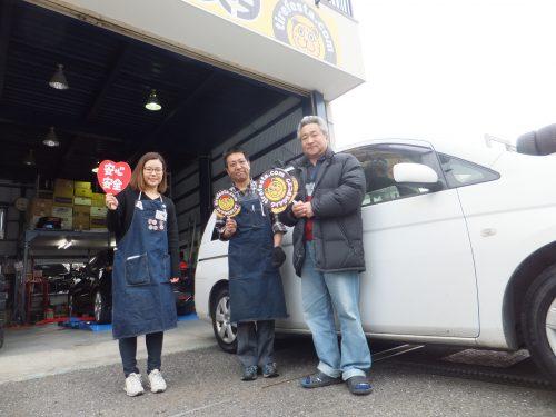 茅ヶ崎市M様 トヨタアイシスのタイヤ交換を承りました。