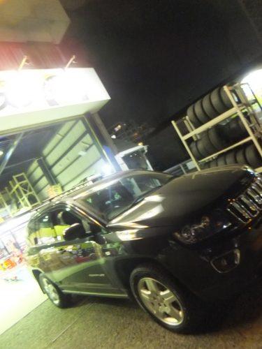 大和市T様 ジープコンパスのタイヤ交換を承りました。
