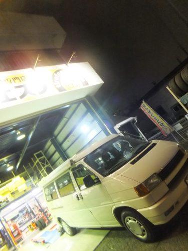 大和市H様 VWヴァナゴンのタイヤ交換を承りました。