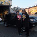 藤沢市K様 レクサスRX「迅速、スタッフの対応良く安心」お車とパチリ♪