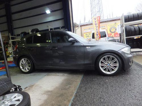 茅ヶ崎市U様 BMWのタイヤ交換を承りました!