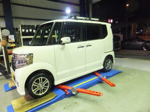 藤沢市A様 N-BOXのタイヤ交換を承りました。