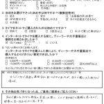 東京都町田市H様 ミニクロスオーバー「量販店では約12万だったがネットで購入したら約7万で済んだ」
