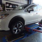 横浜市旭区I様 スバルXVハイブリットのタイヤ交換「タイヤを直送で大変便利で良かった」