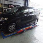 川崎市K様 フリードスパイクのタイヤ交換を承りました。