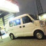 横浜市T様よりスズキエブリイのホイール付きタイヤ交換を承りました!!