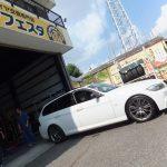 大和市I様 BMWのタイヤ交換2本で約5万円のお得!!