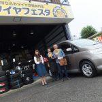 横浜市旭区C様 日産セレナのタイヤ交換で1万円以上のお得!!