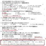 広がるご紹介の輪♪大和市T様 ホンダフリードのタイヤ交換「3万以上安く出来ました!!」