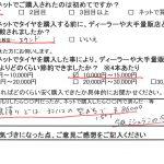 旭区I様 トヨタアルファードのタイヤ交換で約1万5千円のお得!!