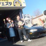 相模原市T様 マツダNBロードスター「タイヤを直送できると価格が全然違います!!」スタッフとパチリ♪