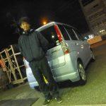 横浜市K様 スバルステラのタイヤ交換でお車とパチリ♪