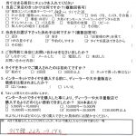綾瀬市H様 BMW435 ネットでタイヤを購入して約9万円の節約!!