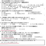藤沢市Y様 日産セレナのタイヤ交換で約15,000円以上の節約!!「ネットでタイヤ4本約5千円+送料8千円」